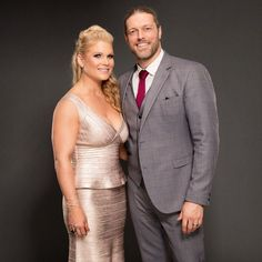 Beth Phoenix and Edge, WWE HOF 2017