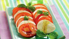 Tomat- og mozzarellasalat - Gjester - Oppskrifter - MatPrat