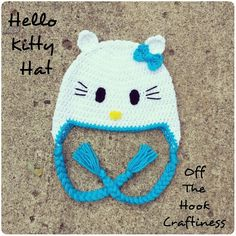 Hello Kitty Hat https://www.facebook.com/OffTheHookCraftiness