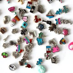 Goodlucky365 25 Pcs Mixed Random Floating Charms for Glass Living Memory Lockets Origami Owl Lockets DIY Wholesale *** Continue to the product at the image link.