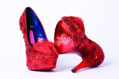 Betsey Johnson - Wizard of Oz ruby shoes