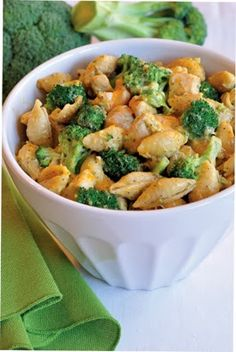 Chicken, Broccoli & Cheese Skillet Meal Pasta | #Recipes for #Dinner