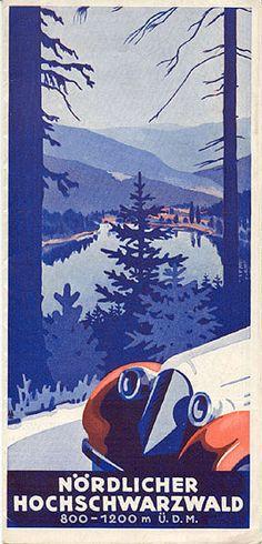 Nördlicher Hochschwarzwald, 1936