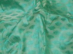 Mint Green Indian Jacquard Fabric Bow Ties Brocade Wedding | Etsy