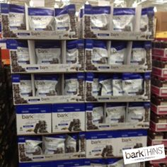 Check out our NEW #DarkChocolate #Blueberry #Quinoa flavor at #Costco in Miami, FL! #SPOTTED #snackingchocolate #nonGMO #fairtrade #chocolate