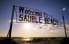 Enjoy the summer sunshine on the second longest freshwater beach in the world. Sauble has an white, sandy beach! Huntington Beach California, California Surf, Surf Trip, Beach Trip, Beaches In Ontario, The Places Youll Go, Places To Visit, Ontario Travel, Lake Huron