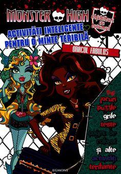 PDF Activitati Inteligente Pentru O Minte Teribila Oracol Fabulos Editia 2013 Monster High, Comic Books, Comic Strips, Cartoons, Comic Book, Comics, Graphic Novels