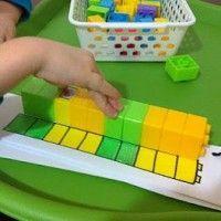 EDUCAÇÃO INFANTIL: PERCEPÇÃO DAS CORES COM  LEGO / BLOCOS DE MONTAR