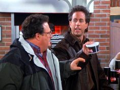 "Newman, you wouldn't eat broccoli if it was deep fried in chocolate sauce. ""The Chicken Roaster"""
