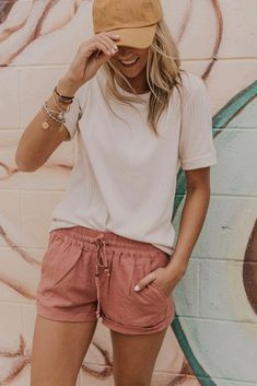 trendy outfits for women * trendy outfits . trendy outfits for summer . trendy outfits for school . trendy outfits for women . Cool Outfits For Teens, Cute Beach Outfits, Beach Shorts Outfit, Casual Beach Outfit, Cute Outfits With Shorts, Summer Clothes For Teens, Cute Vacation Outfits, Shorts Outfits Women, Summer Clothing