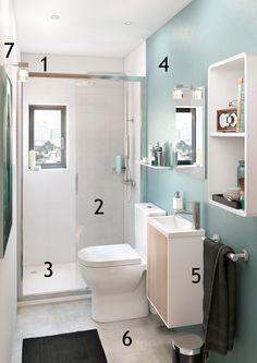 Lavabos de resina solid surface para decorar cuartos de - Cuartos de bano leroy merlin ...