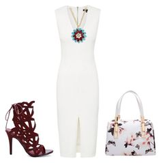 """In between burgundy!"" by lollahs ❤ liked on Polyvore featuring Kate Spade"