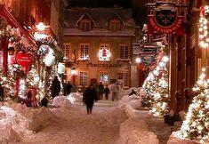 Winters Night, Quebec City, Canada