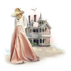 """The Beach House"" by pati777 ❤ liked on Polyvore featuring art"