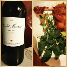 2009 Dominick Clerico Barolo Ciabot Mentin Ginestra- the most representative wine of the Estate vines planted at 400 meters. Beautifully ripe fruit of dried strawberries and mushrooms. Round balanced tannins that perfectly paired with the duck confit.  #duckconfit #wine #wein #wijn #vin #vino #vinho #红酒 #ワイン #вино #κρασί #winelover #winelovers #winetasting #sommlife #sommelier #somm #winegeek #cheflife #skurnikwines #instawine #winestagram #barolowine #barolo #italianwine #redwine #winery