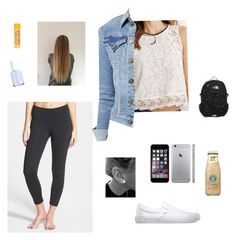 """""""First day: high school: freshman year"""" by geekydancer ❤ liked on Polyvore"""