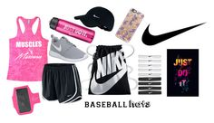 """""""Workout"""" by amcn02 ❤ liked on Polyvore featuring NIKE and Casetify"""