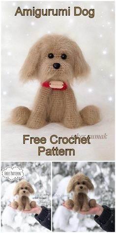In this article I will share with you amigurumi hunting dog free pattern, everyt. : In this article I will share with you amigurumi hunting dog free pattern, everything you are looking for amigurumi is waiting for you on this site. Crochet Amigurumi Free Patterns, Crochet Animal Patterns, Stuffed Animal Patterns, Crochet Animals, Crochet Toys, Free Crochet, How To Start Knitting, Beagle Dog, Crochet Projects