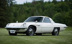 1967 Mazda Cosmo, powered by a Wankel engine