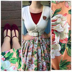 My Week In Outfits! - Miss Victory Violet Rockabilly Fashion, 1950s Fashion, Fashion 2017, Look Fashion, Girl Fashion, Vintage Fashion, Fashion Outfits, Rockabilly Style, Curvy Fashion