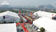SHELTER Event Marquee - Commercial Tents - Reception Hall - Temporary Lounge Tent -65