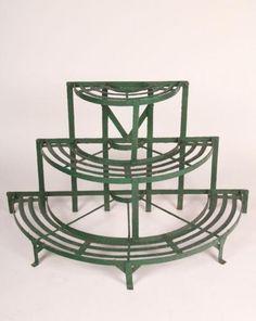 Unique Vintage Iron Plant Stand