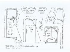 Выкройка толстовки с капюшоном (Шитье и крой) | Журнал Вдохновение Рукодельницы