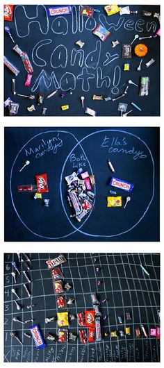 Can't wait to try these Halloween candy math challenges this year