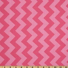 Riley Blake Chevron Medium Tonal Hot Pink from @fabricdotcom  Designed by RBD Designers for Riley Blake Designs, this cotton print fabric is perfect for crafts, quilting, apparel and home décor accents. The chevron stripe is vertical to the selvedge.
