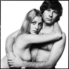 Sharon Tate + Roman Polanski, 1969 by David Bailey (Tate was murdered by the Manson Family in August of 1969)