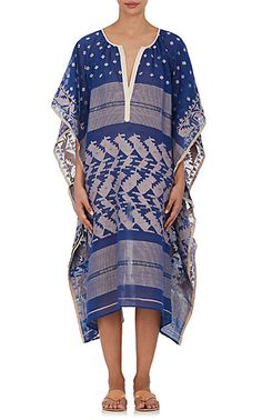 We Adore: The Embroidered Gauze Caftan from Two at Barneys New York