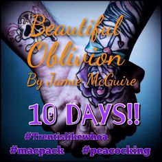 Keep Calm. Don't Freak Out. I'll try! Lol #countdown #jamiemcguire #beautifuloblivion #trentislikewoah #peacocking #bob #macpack #trentalicious #maddox #maddoxbrother