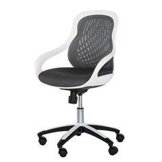 fauteuil de bureau punch noir/gris | punch et bureaux - Chaise De Bureau Ado