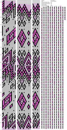 18 around bead crochet rope pattern Crochet Square Patterns, Bead Loom Patterns, Peyote Patterns, Beading Patterns, Beaded Beads, Beaded Necklace Patterns, Bead Crochet Rope, Crochet Bracelet, Beaded Crochet