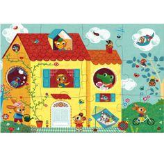#Puzzle #Djeco optis