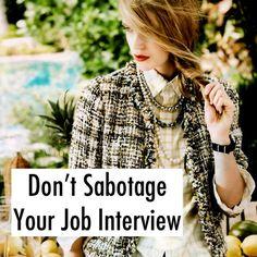 Levo League's top #Interview tips   #Interview Prep  Interview Sabotage