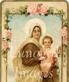 RELIGIOUS EPHEMERA CD Victorian Vintage Images Religious Holy Cards Prints Christian Art Jesus Mary Madonna