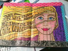 Sandra Kaye: Peek into my Journals...and Bathroom Finish