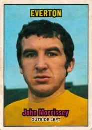 Nigel's Webspace - A&BC Chewing Gum - 1970/71, Footballers, Orange backs, Everton