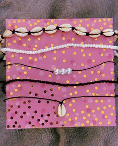 Wavy Designs by WavyDesignsBySheala Cute Jewelry, Boho Jewelry, Beaded Jewelry, Jewelery, Beaded Bracelets, Diy Bracelets Easy, Summer Bracelets, Summer Jewelry, Beaded Choker Necklace