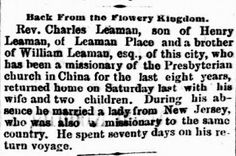Genealogical Gems: On This Day: Missionaries return to Lancaster