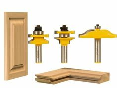 3 Bit Raised Panel Cabinet Door Router Bit Set - Ogee - Yonico 12335 - Amazon
