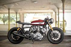 ¿Cómo comprar una Cafe Racer? Yamaha Virago XV750 Cafe Racer by Hageman MC #motorcycles #caferacer #motos | caferacerpasion.com