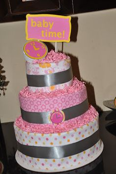 The Party Wall: Around the Clock Baby Shower