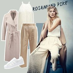 Rosamund Pike - Cosy Morning by AMAZE Celebrities