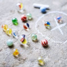 marbles was a lot of fun as a kid (though I hated when I played keepsies and lost my best marble)