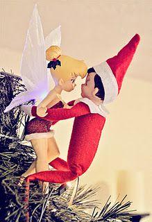 Elf on the shelf - Tink.....enough said
