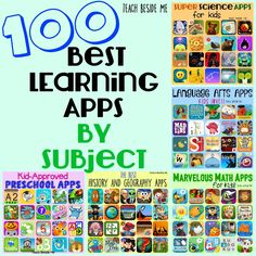 This is an AMAZING resource. This pin is home to 100 learning apps, and are all … This is an AMAZING resource. This pin is home to 100 learning apps, and are all organized by subjects. Best Learning Apps, Mobile Learning, Learning Games For Kids, Home Learning, Free Math Apps, Application Utile, Sight Word Flashcards, Applications, Science For Kids