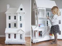 Casa di bambola a dimensione umana