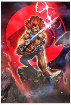 Lion-O by Dave Wilkins
